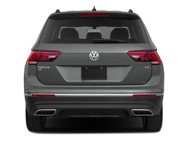 2018 Volkswagen Tiguan Sel Premium 4motion Volkswagen